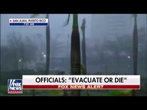 Hurricane Maria Destroys Puerto Rico Heads Now For Punta Cana Dominican Republic