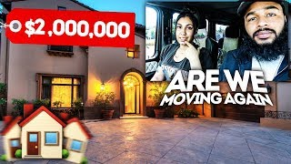 WE'RE MOVING AGAIN? (MILLION DOLLAR HOUSE TOUR)
