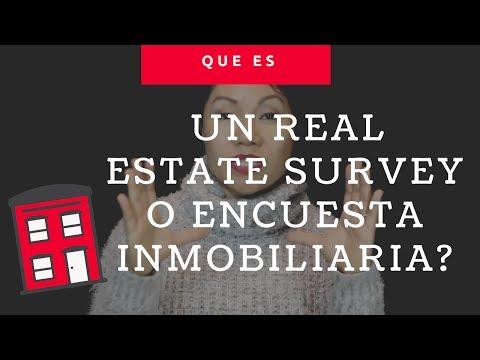 (Spanish -Español) Que es un real estate survey o Encuesta inmobiliaria, Chicago