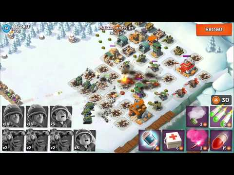Boom Beach Battles: IUTA vs Hamers - Boom Beach