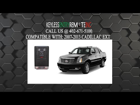 How To Replace Cadillac EXT Key Fob Battery 2007 2008 2009 2010 2011 2012 2013