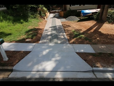 VDOT Apron and Paver and Concrete Driveways in Vienna, VA