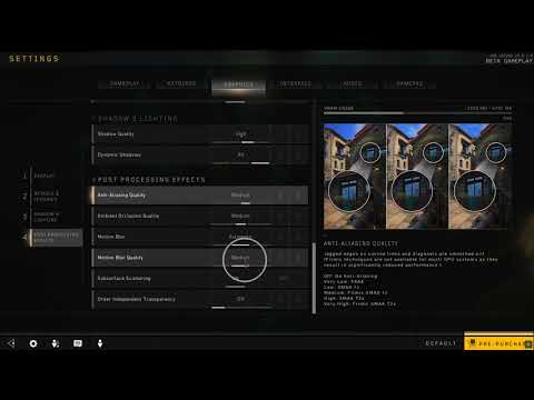 How to Change Motion Blur Quality in Black Ops 4