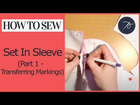 Inserting a Set in Sleeve  Part 1