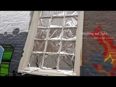 Quick Window Blackout Solution