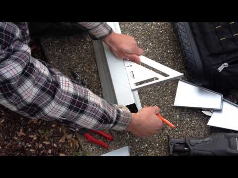 General Maintenance Company / Gutter Miters Step 2