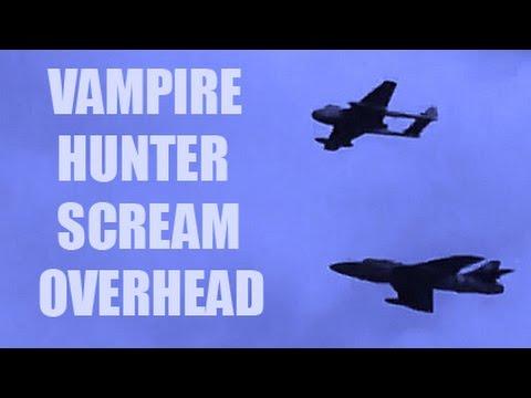 CRHnews Vampire Hunter Duo thunder over RAF North Weald