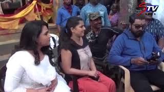 sarathkumar in Pamban movie shooting spot | Srikanth Deva,Varalakshmi , Diana Champika  |STV