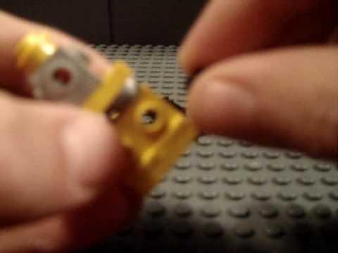 how to make a lego mini transformer BUMBLEBEE