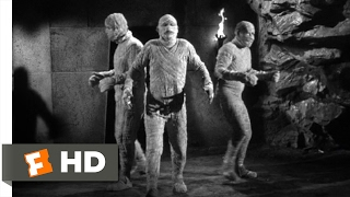 Abbott and Costello Meet the Mummy (1955) - Mummies Everywhere Scene (9/10) | Movieclips