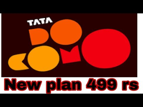Tata Docomo launched New plan 499 rs see video for more information