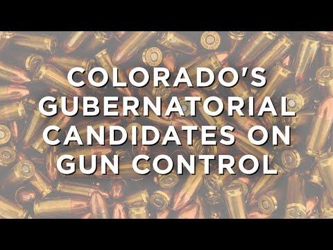 Colorado's gubernatorial candidates on gun control