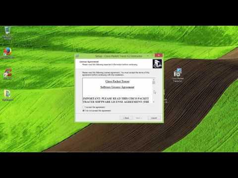 Descargar e Instalar Packet Tracer 7 & 6 Ultima versión 2016 -Download & Install Packet Tracer 7&6