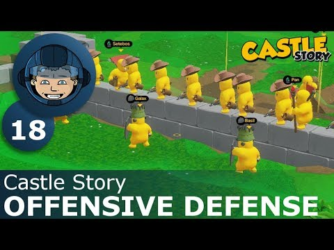 OFFENSIVE DEFENSE - Castle Story: Ep. #18 - Gameplay & Walkthrough