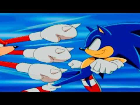 Sonic vs Knuckles (Full Scene)