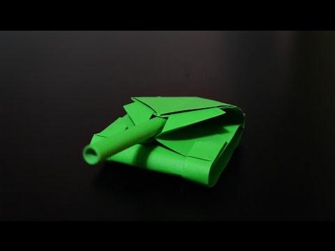 Origami: War Tank / Battle Tank 2.0 - Instructions in English (BR)