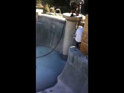 Spa Duck Specialties Inc, Fresno Ca, Soda Blast Cleaning Pool & Spa Glass Ceramic & Granite Tile