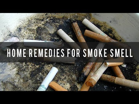 Home Remedies To Get Rid Of Smoke Smell In Your House, Car Or Room