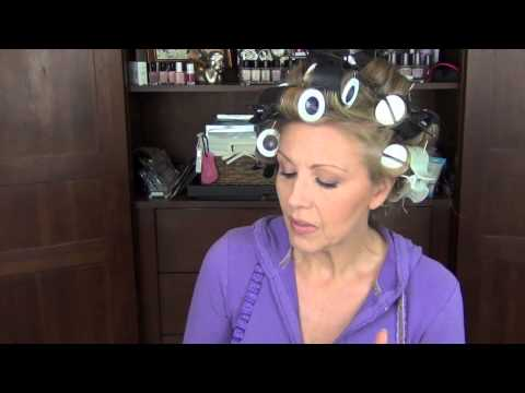 How I get BIG hair with hot rollers!! Requested!