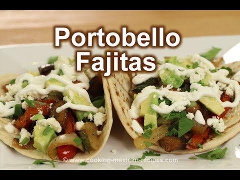 Easy Vegan Recipe | Portobello Fajitas | Rockin Robin Cooks