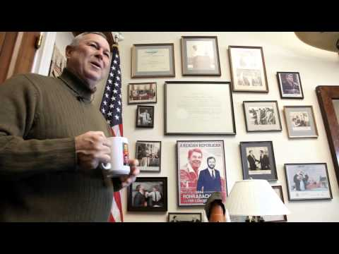 Office Space: Hanging 10 with Dana Rohrabacher