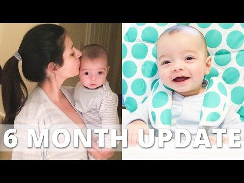 6 Month Baby Update (Weaning, Teething and Sleeping) | Ysis Lorenna