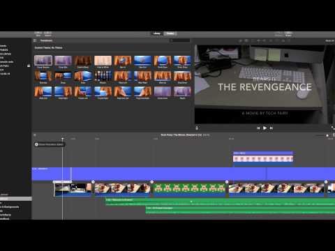 iMovie 10 for Yosemite Tutorial 9: Clip Transitions