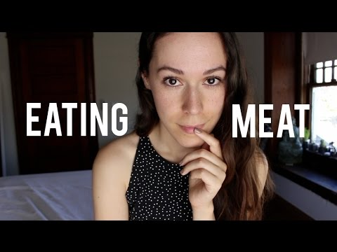 Why I started eating meat again
