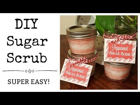 3 Ingredient DIY Sugar Scrub - SUPER EASY!