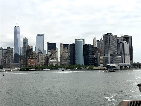 1st day in New York City | Subway, Staten Island Ferry, Statue of Liberty | That Indian Guy