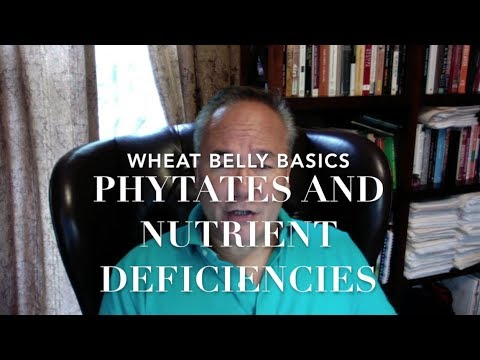 Wheat Belly Basics: Phytates and Nutrient Deficiencies