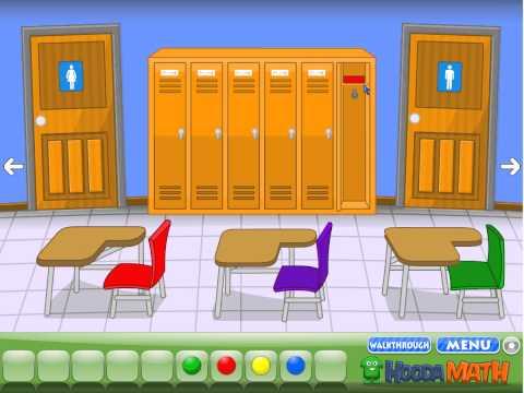 Escape the Classroom Walkthrough