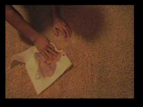 Removing a Juice Spill From Carpet