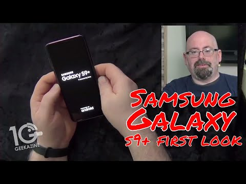 First Look: Galaxy 9+ from Samsung with Unboxing