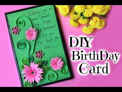 DIY: Birthday Card for Friend | Easy Handmade Paper Quilling Card |  Best Gift Idea | Shweta Verma