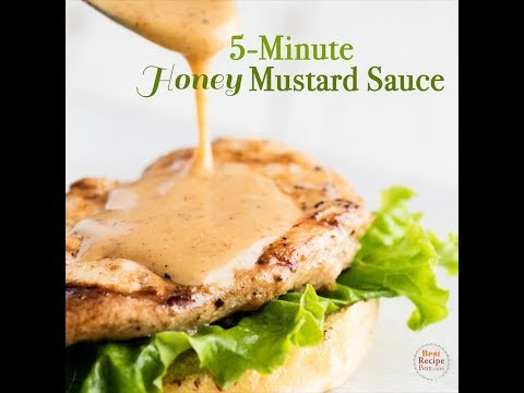 The Awesome Sauce - an easy Honey Mustard Sauce