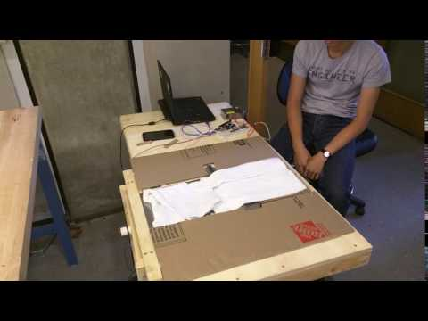 Automated Clothes Folding Device