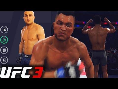EA Sports UFC 3 Career Mode: Catching Fire! Going After UFC Legends!