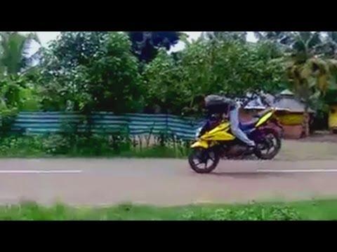 Funny video - Indian Bike Jumping , Thrashing Guaranteed