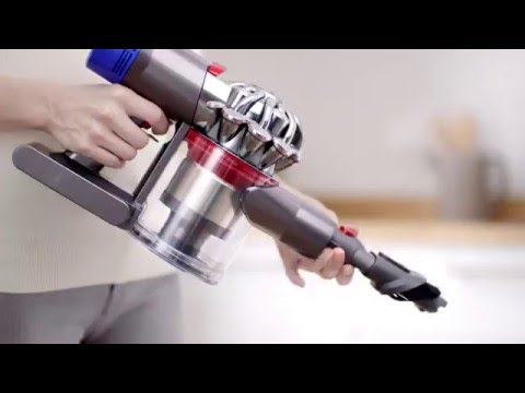 New: Dyson V8 Cordless Vacuums - Official Dyson Video