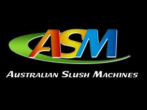 Australian Slush Machines Slush Machine Demo - Easy Cleaning & Setup ICETRO SSM280