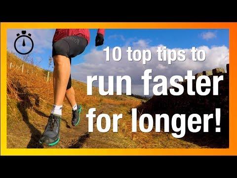 Run FASTER for LONGER (10 tips from a record breaker!)