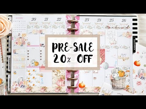 Plan With Me Sunday: Grateful Heart Kit on PRE SALE 20% OFF!! (LIMITED STOCK!)