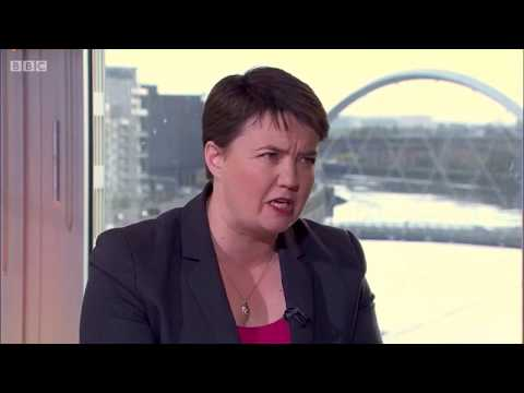 Ruth Davidson is misleading the public over Universal Credit #marr