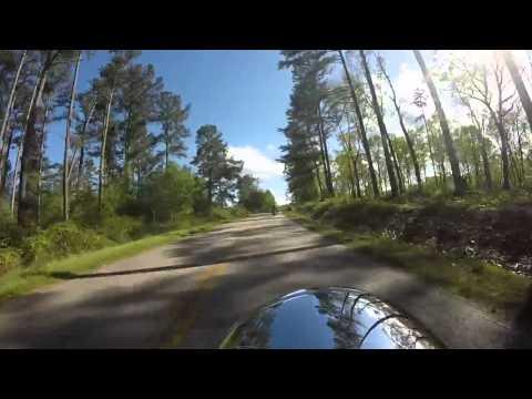 Harley Davidson group ride through north Georgia 4-26-15