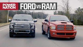 Ford F150 EcoBoost vs Dodge Ram SRT-10: Muscle Trux Build-Off Begins - Truck Tech S7, E7