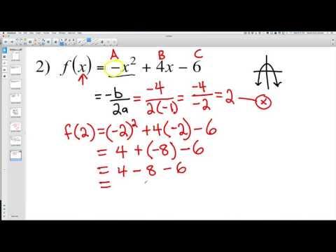Finding Minimum and Maximum Polynomials 2