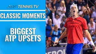 Biggest ATP Tennis Upsets and Shock Results! 😮