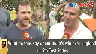 What do fans say about India