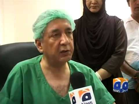 Geo Reports Rare Surgery At PIMS 12 Aug 2012.